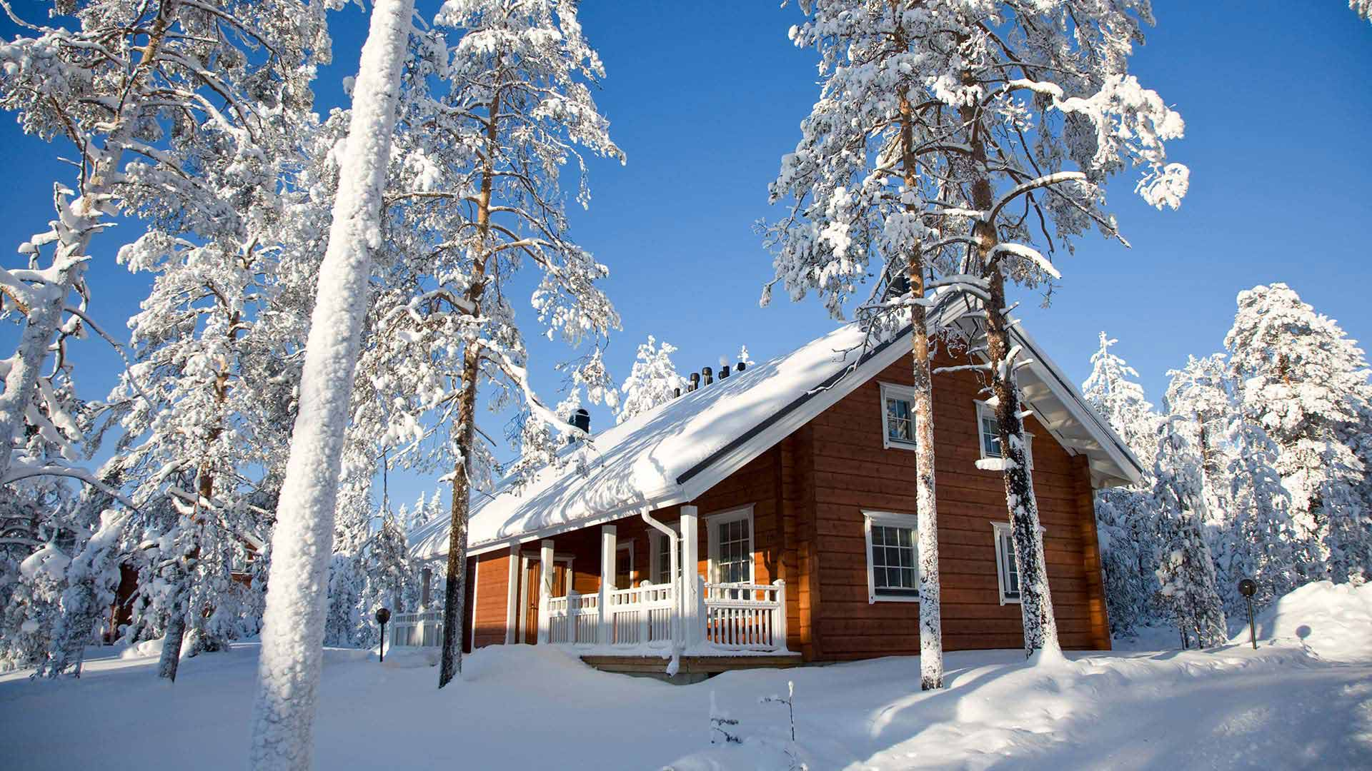 Lapland Cabin Holidays Cottage Holidays In Lapland Log